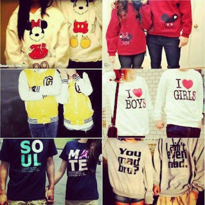 Cute matching shirts ^_^ | kelly and i:) | Pinterest | Matching ...