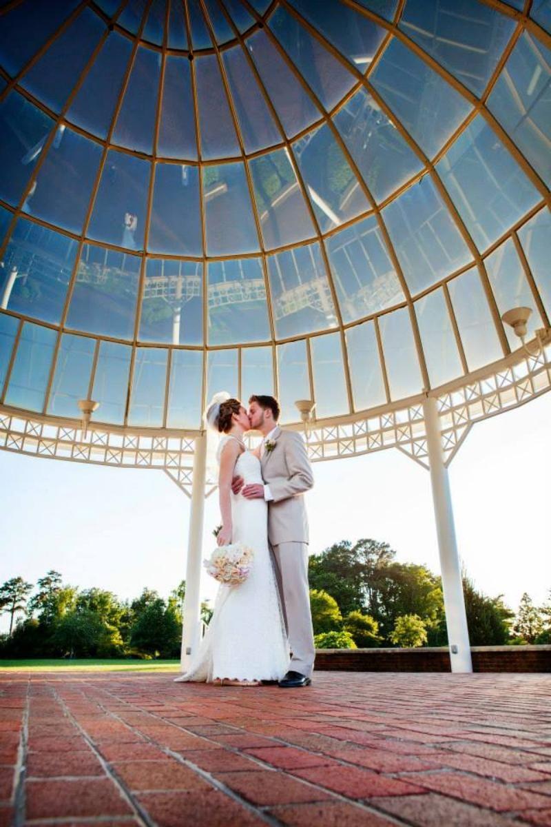 Wedding venues in virginia beach va  Signature at West Neck  Tropical Glam Wedding  Pinterest