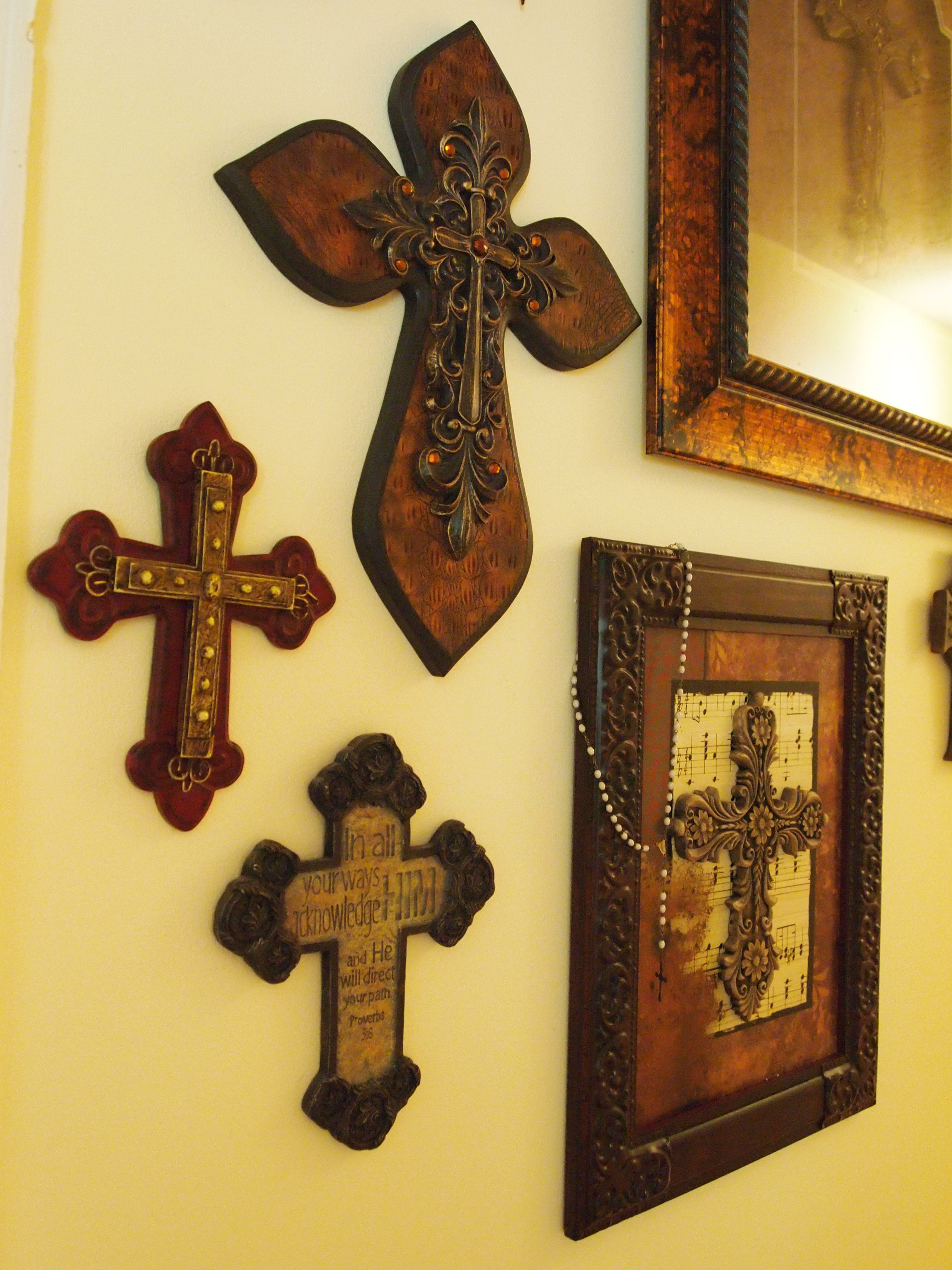 crosses as wall art | The Cross | Pinterest | Cross walls, Walls and ...
