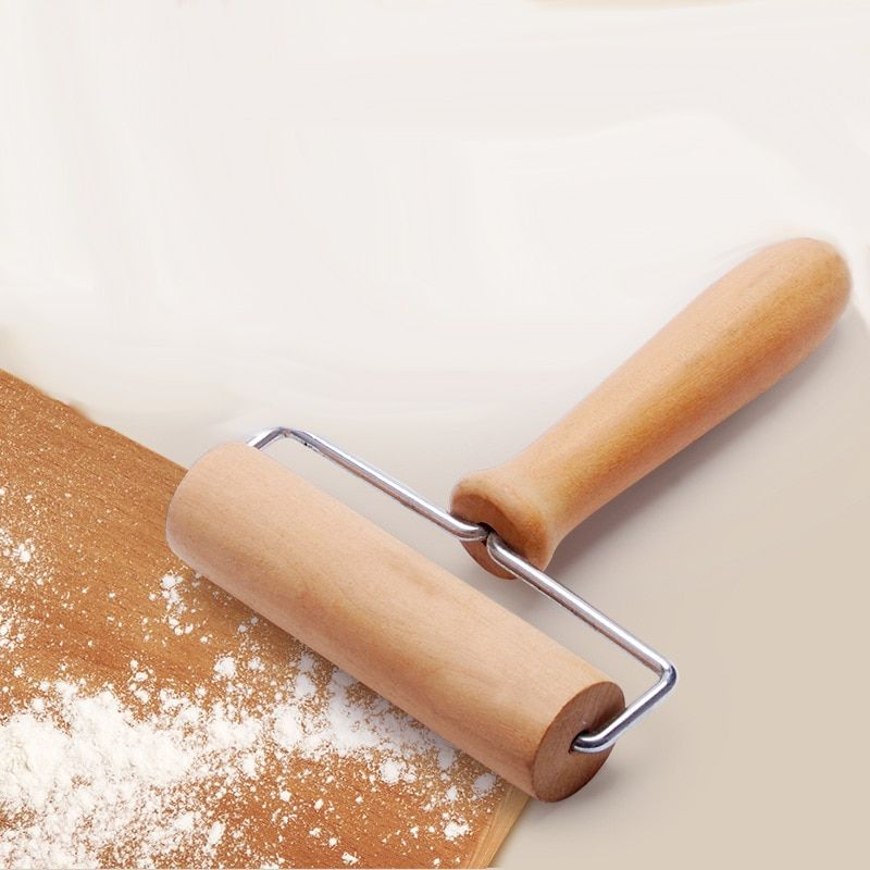 New Wooden Rolling Pin Kitchen Baking Cake Dough Pastry Rollers Fondant Pizza
