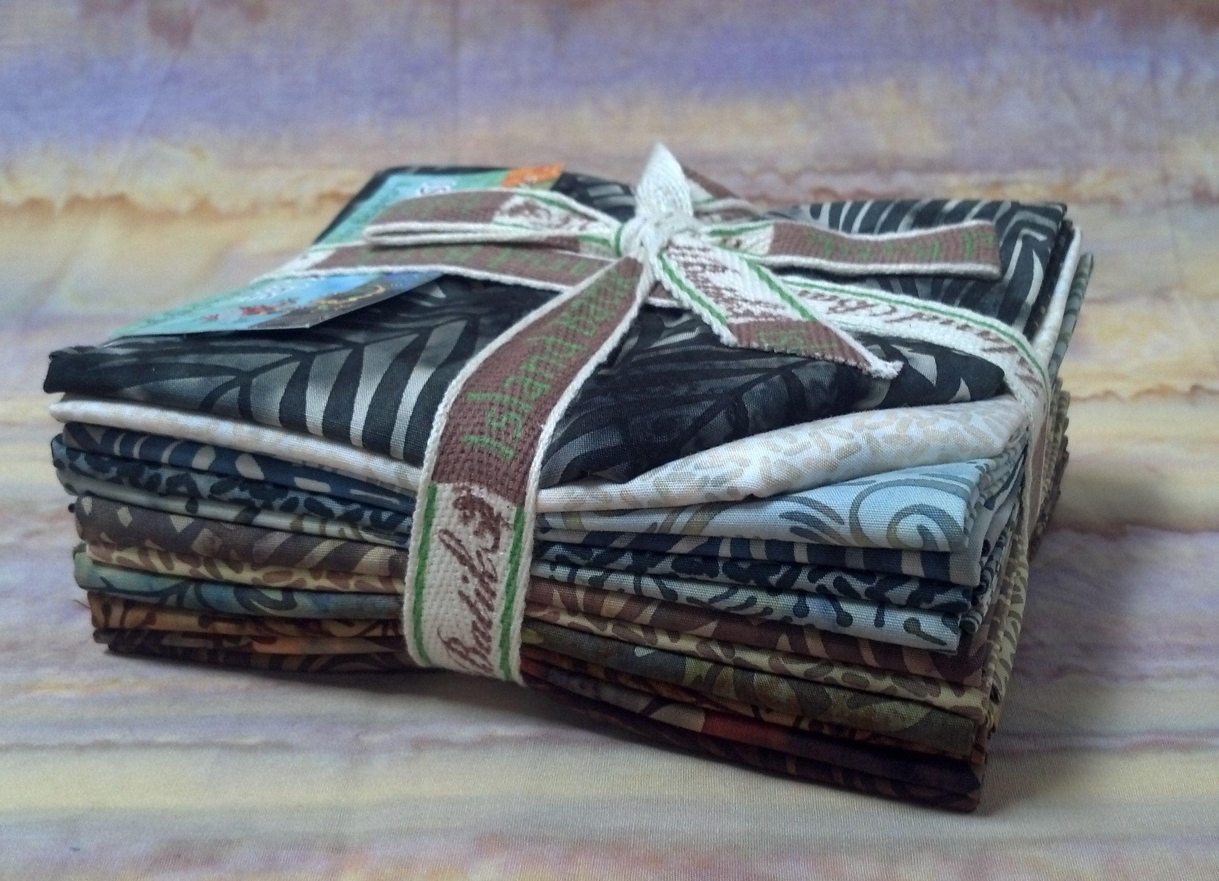 """Island Batik's """"Nature"""" Fat Quarter Bundle"""