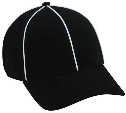 NFL FLEX-FITTED ADULT UMPIRE REFEREE Hat Cap Md Lg Black White Pin Stripe  Official by Authentic Sports Shop.  18.99. We are your team supplier with  team ... e44c05dd2cc
