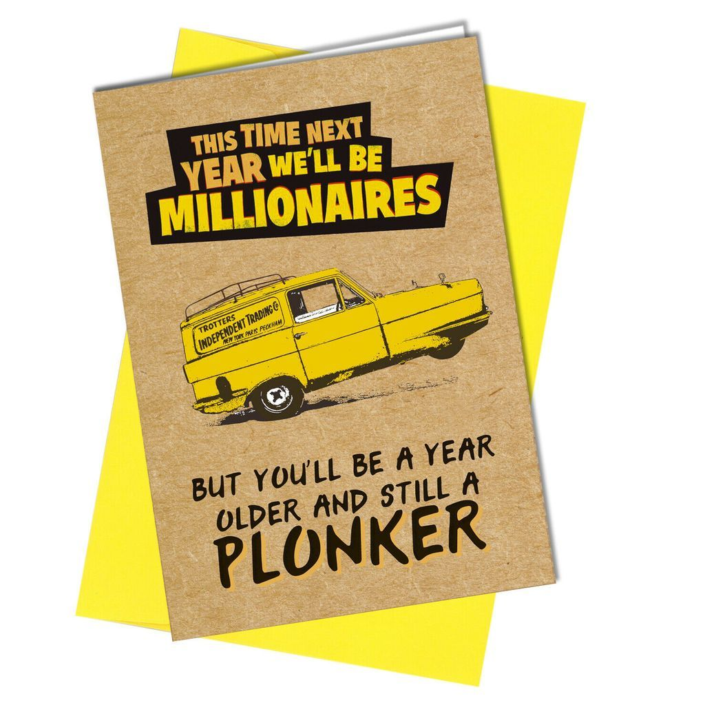 952 Millionaires Funny Birthday Cards Only Fools And Horses Cool Birthday Cards