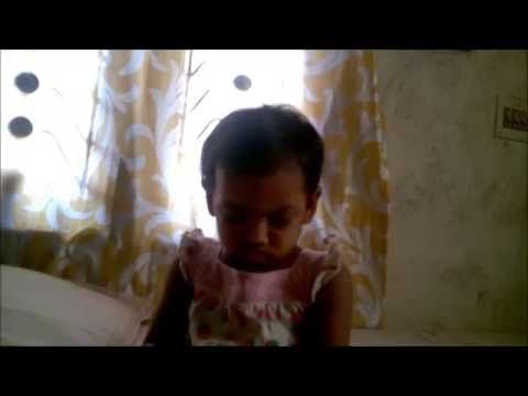 Cute 11 months Baby Falling asleep while Sitting - Funny