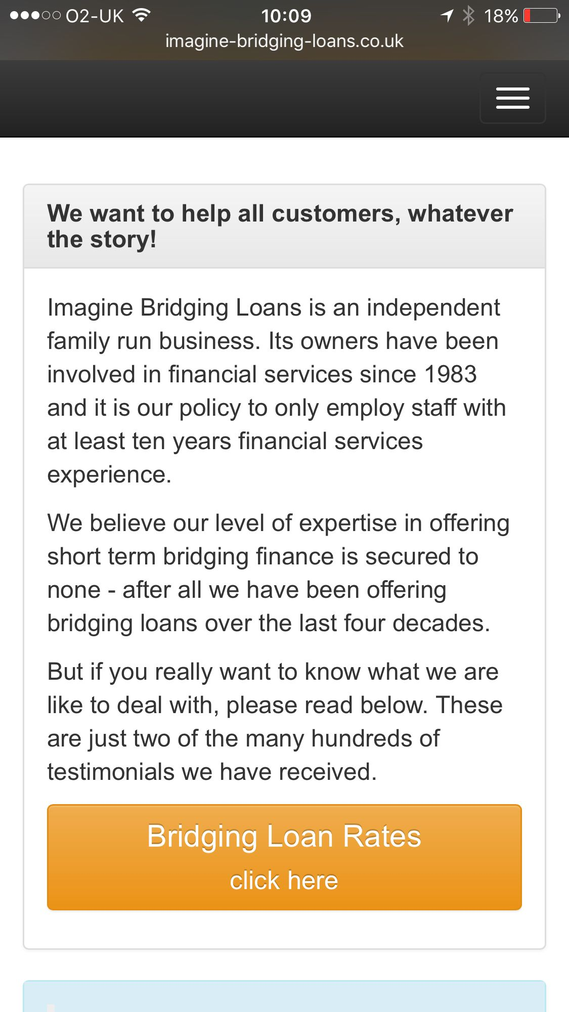 What's your story? WE RECOMMEND THAT YOU SEEK INDEPENDENT