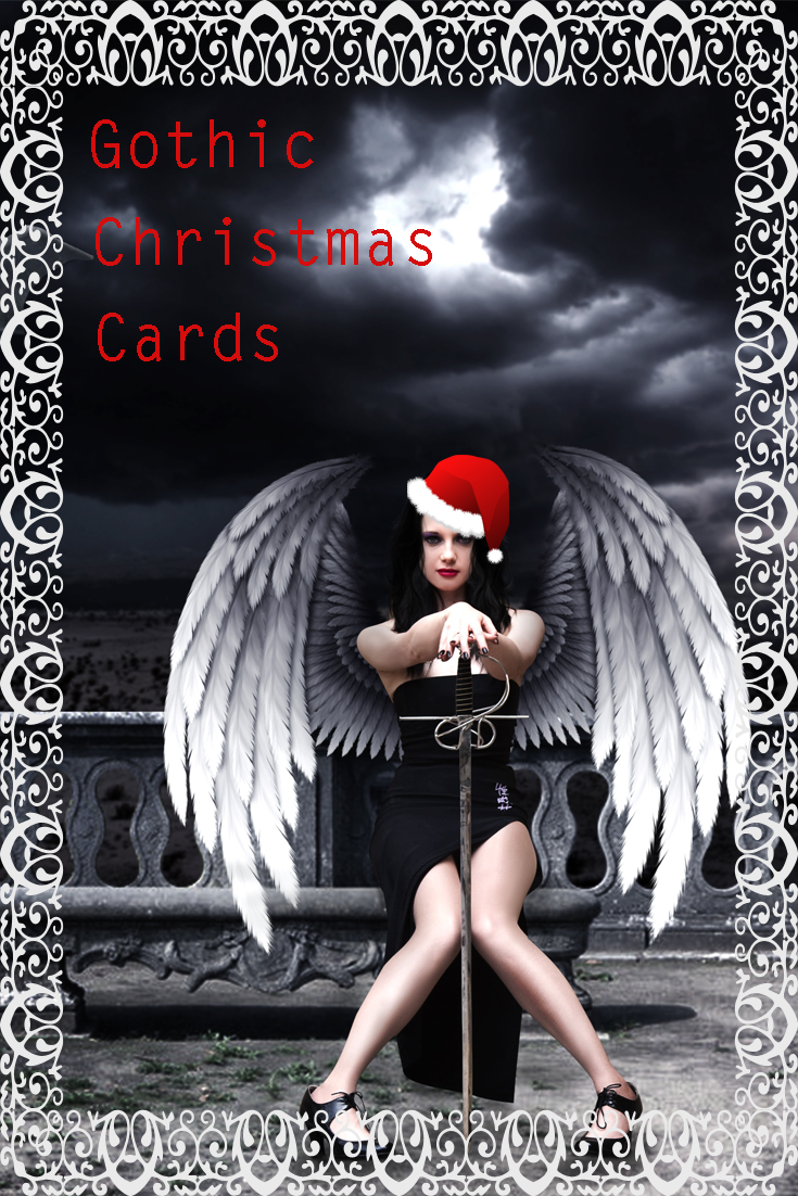 Selection of Gothic Christmas Cards | The Cool Card Shop - Cards for ...