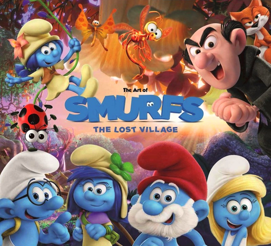 The art of smurfs the lost village smurfs and - Hefty smurf the lost village ...