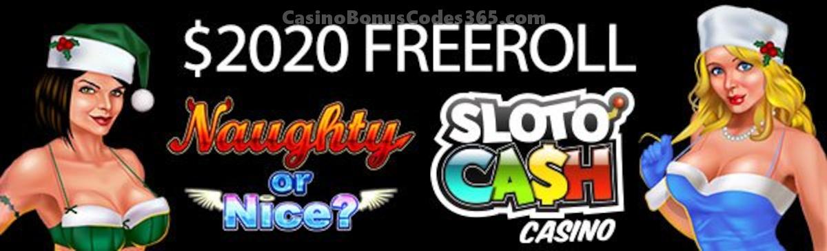 Slotocash Casino $2020 New Year FREEroll
