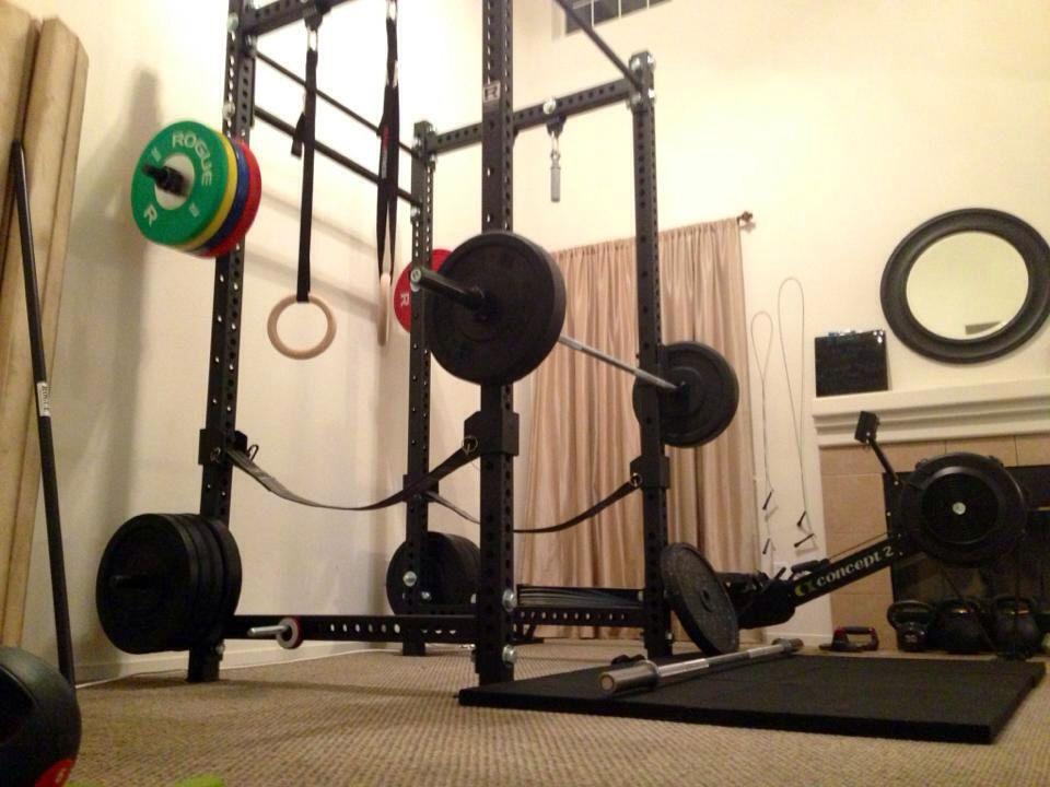 Living Room Home Gym Rogue Fitness