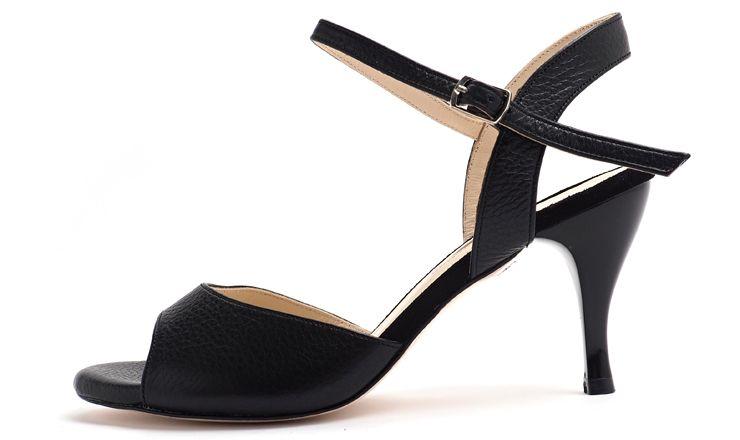 Galupi - Cuero Negra - Low Heel | Low