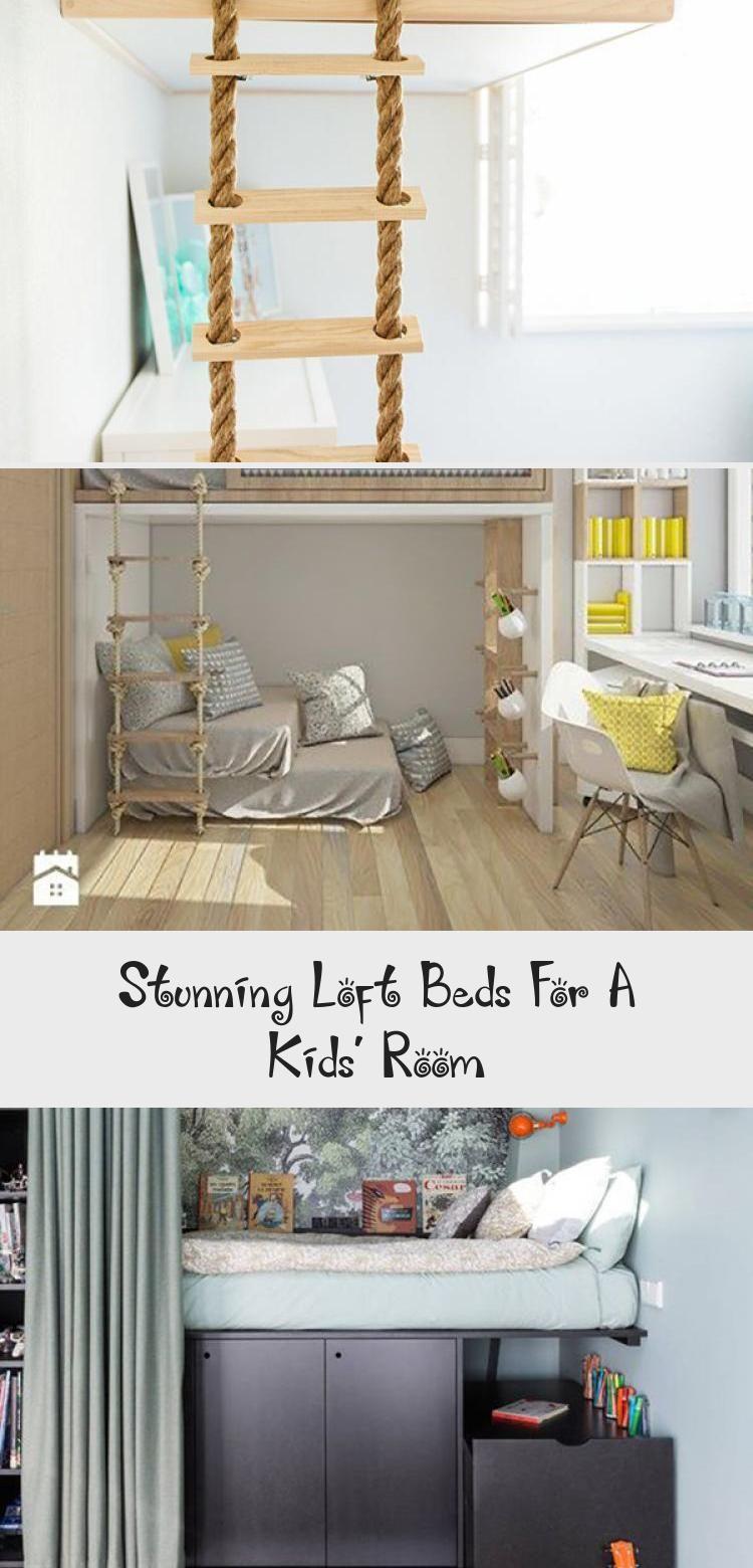 Stunning Loft Beds For A Kids Room