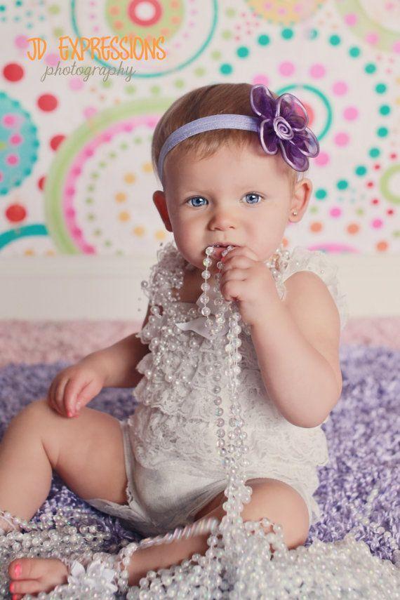 CLEARANCE Purple Headband-Baby Girl Headbands-Baby Headbands-Newborn Headbands-Toddler Headbands-Hair Accessories-Baby Accessories