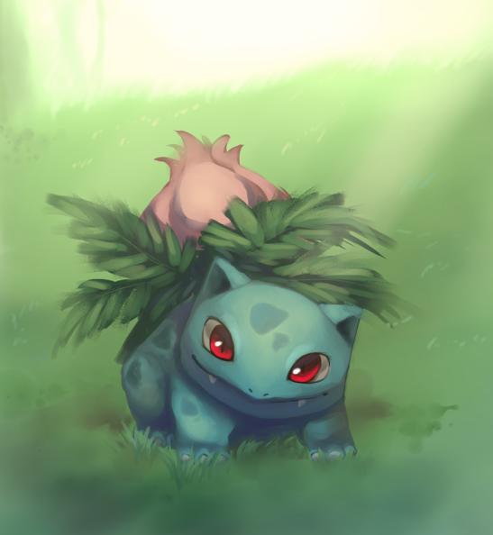 Ivysaur By Joltik92 On Deviantart Cool Pokemon Wallpapers Pokemon Fan Art Pokemon Art