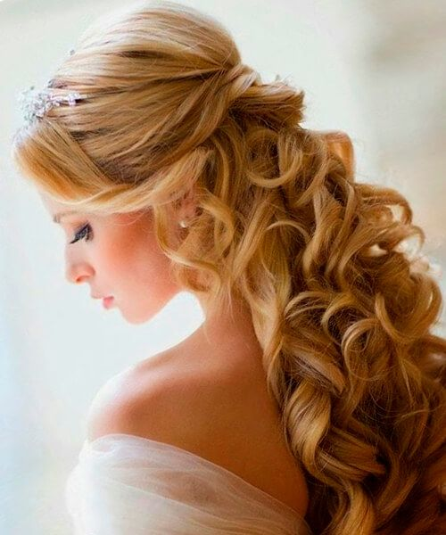 35 Beautiful Wedding Hairstyles For Long Hair: Great Wedding Hairstyle Idea #hair #hairextensions #beauty