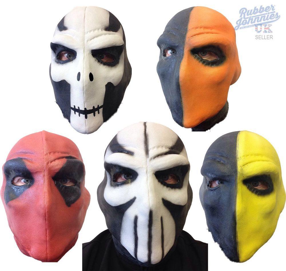 Deathstroke Mask Movie Red Villain Taskmaster Crossbones Comic Con ...