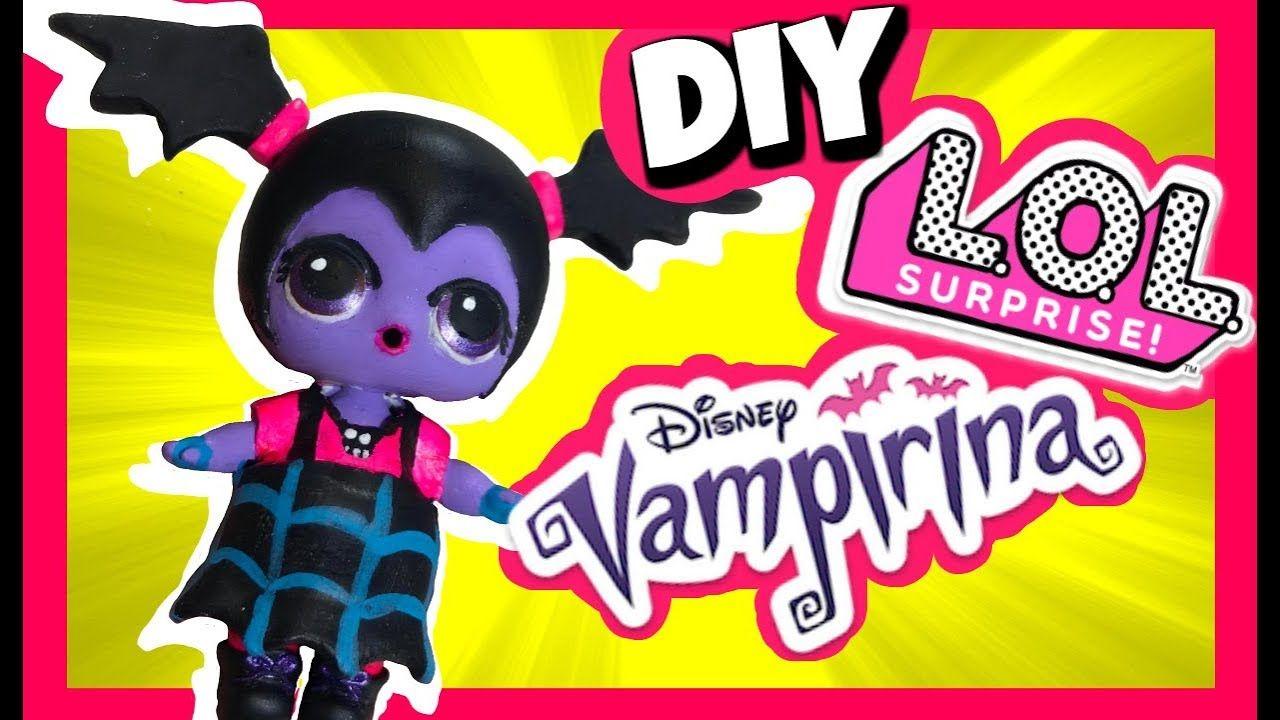 DIY Vampirina Doll Cumstom LOL Surprise Dolls Videos ...