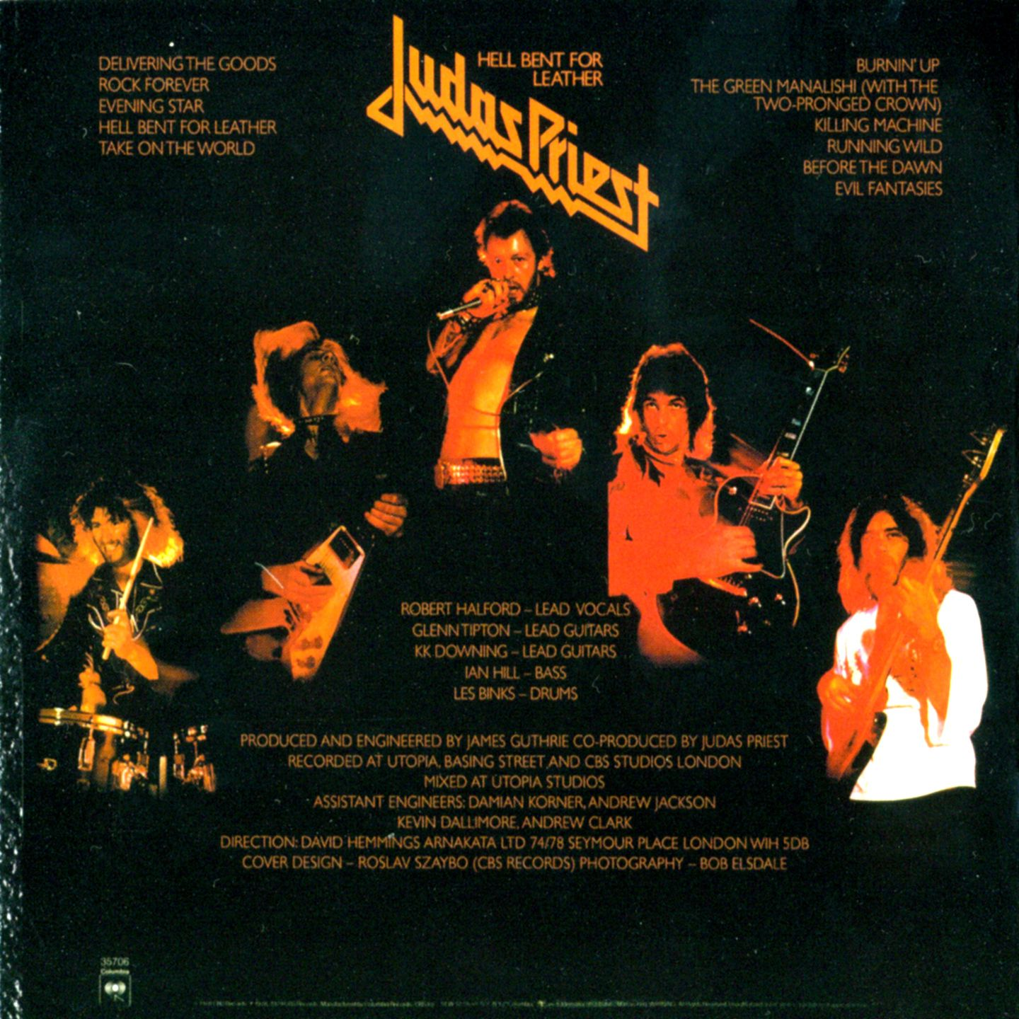 JUDAS PRIEST HELL BENT FOR LEATHER One Fashion change makes history