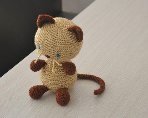 PATTERN BUNDLE: Crochet Kitty Cat Patterns! Amigurumi Kitty ... | 456x570