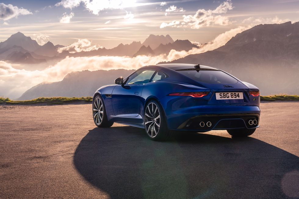 Jaguar Reveals The Facelifted 2020 F Type Jaguar F Type New Jaguar New Jaguar F Type