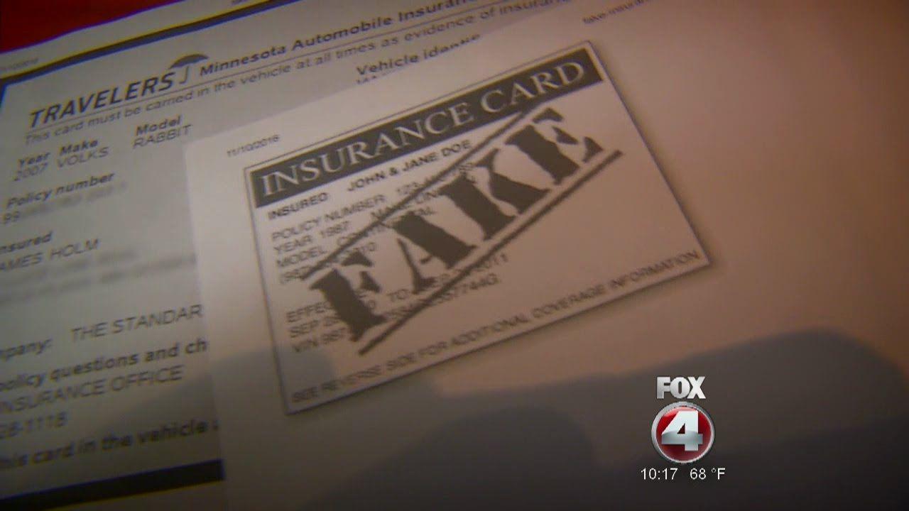 Fake Car Insurance Cards On The Rise Car Insurance Cards Car
