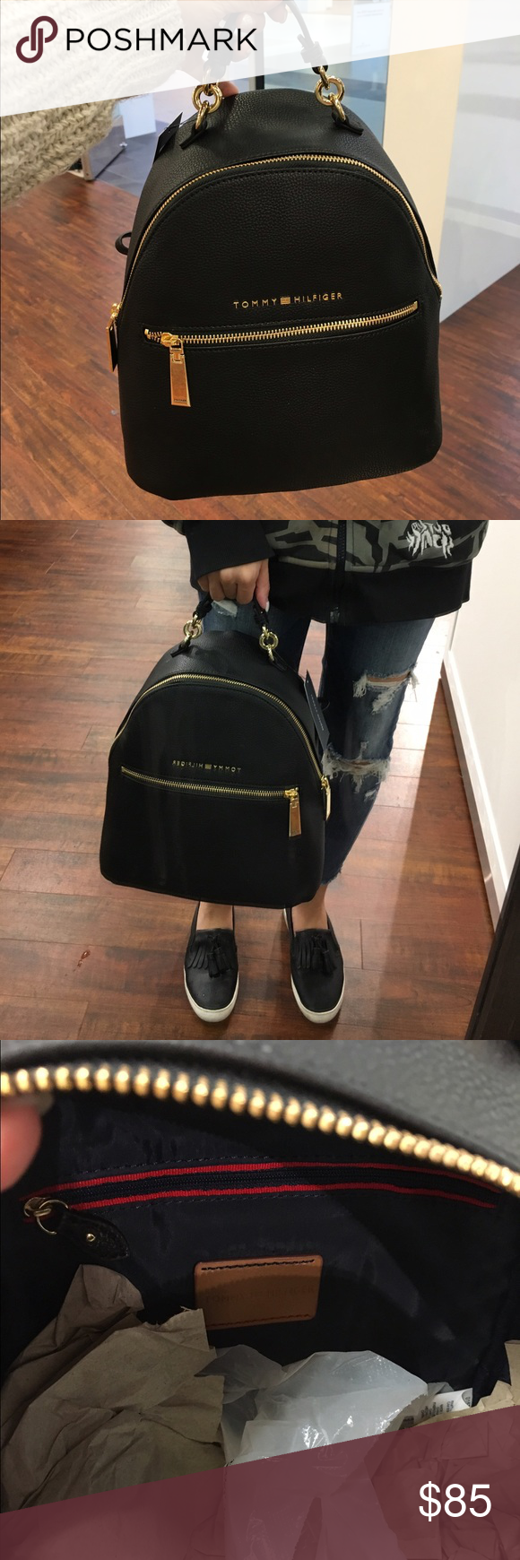 Tommy Hilfiger back pack Brand new. Approx 40cmx 30cmx 15cm. Tommy Hilfiger Bags Backpacks