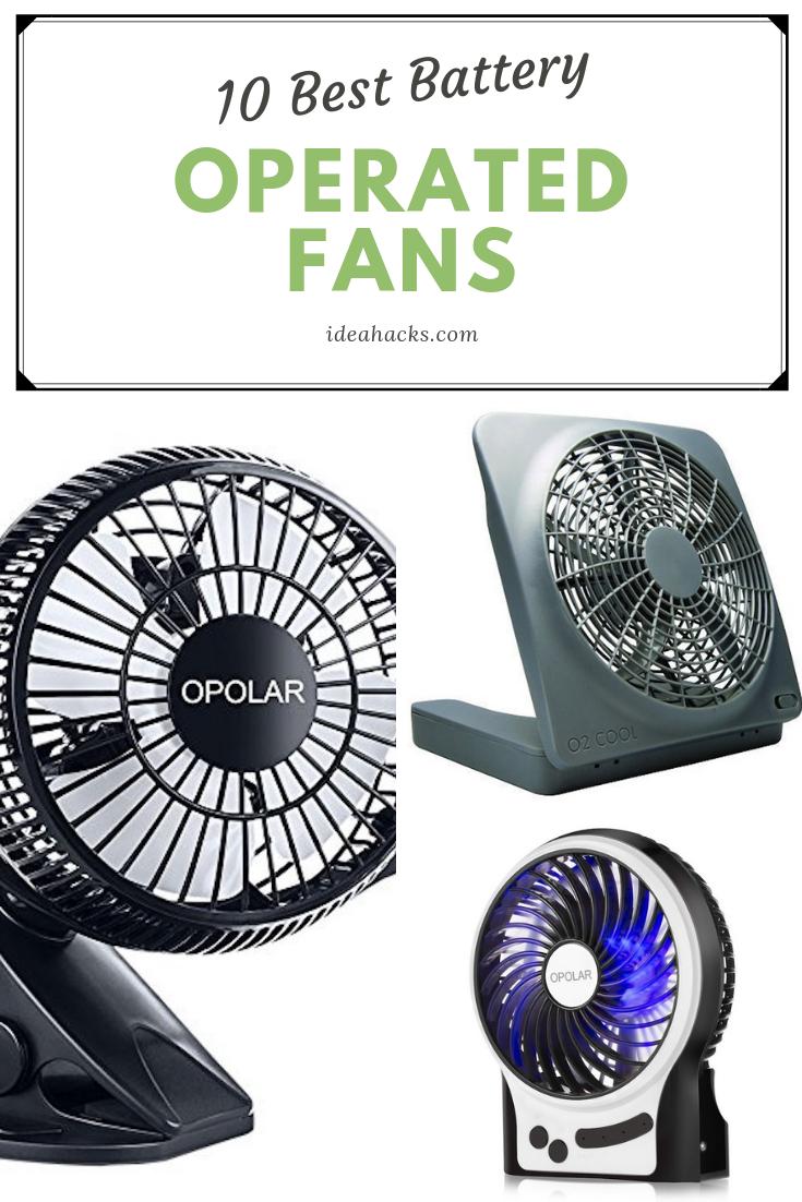 Top 10 Best Battery Operated Fans Reviewed In 2019 Fan Battery Operated Portable Fan