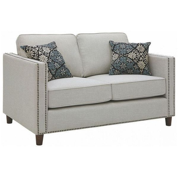 Best Loveseat 500 Liked On Polyvore Featuring Home 400 x 300