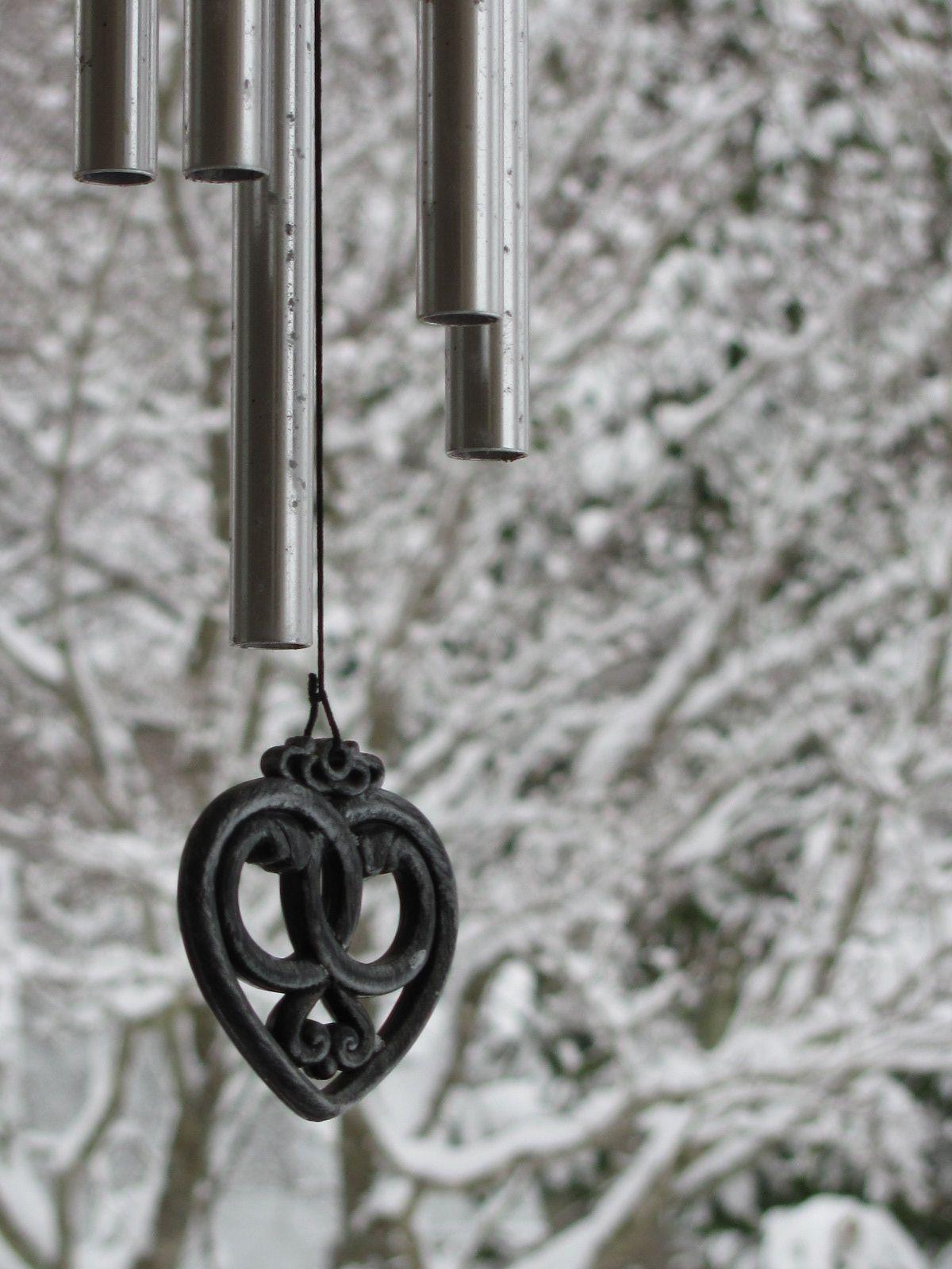 Winter wonderland. Wind chimes, Decor