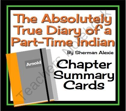 the absolutely true diary of a part time indian by sherman alexie essay Summary and reviews of the absolutely true diary of a part-time indian by sherman alexie, plus links to a book excerpt from the absolutely true diary of a part-time.
