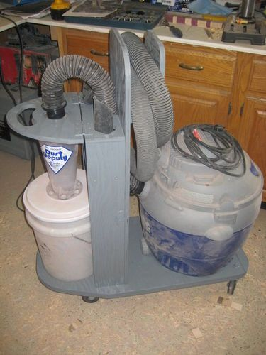 Economical Dust Collection System For A Small Home