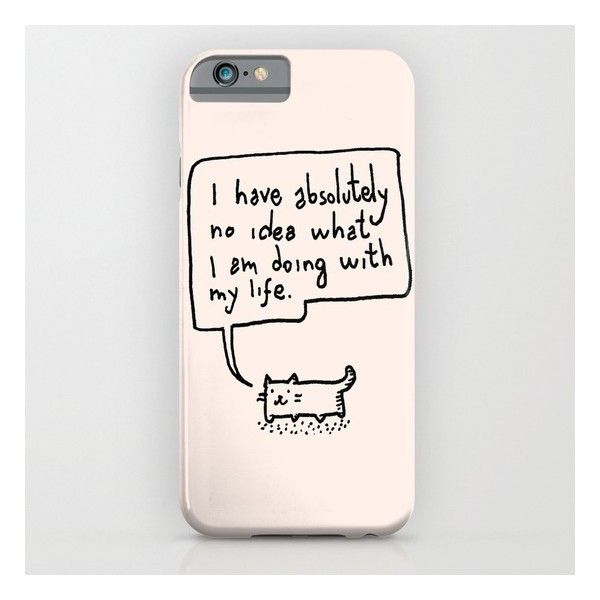 Little Cat iPhone & iPod Case ($35) ❤ liked on Polyvore
