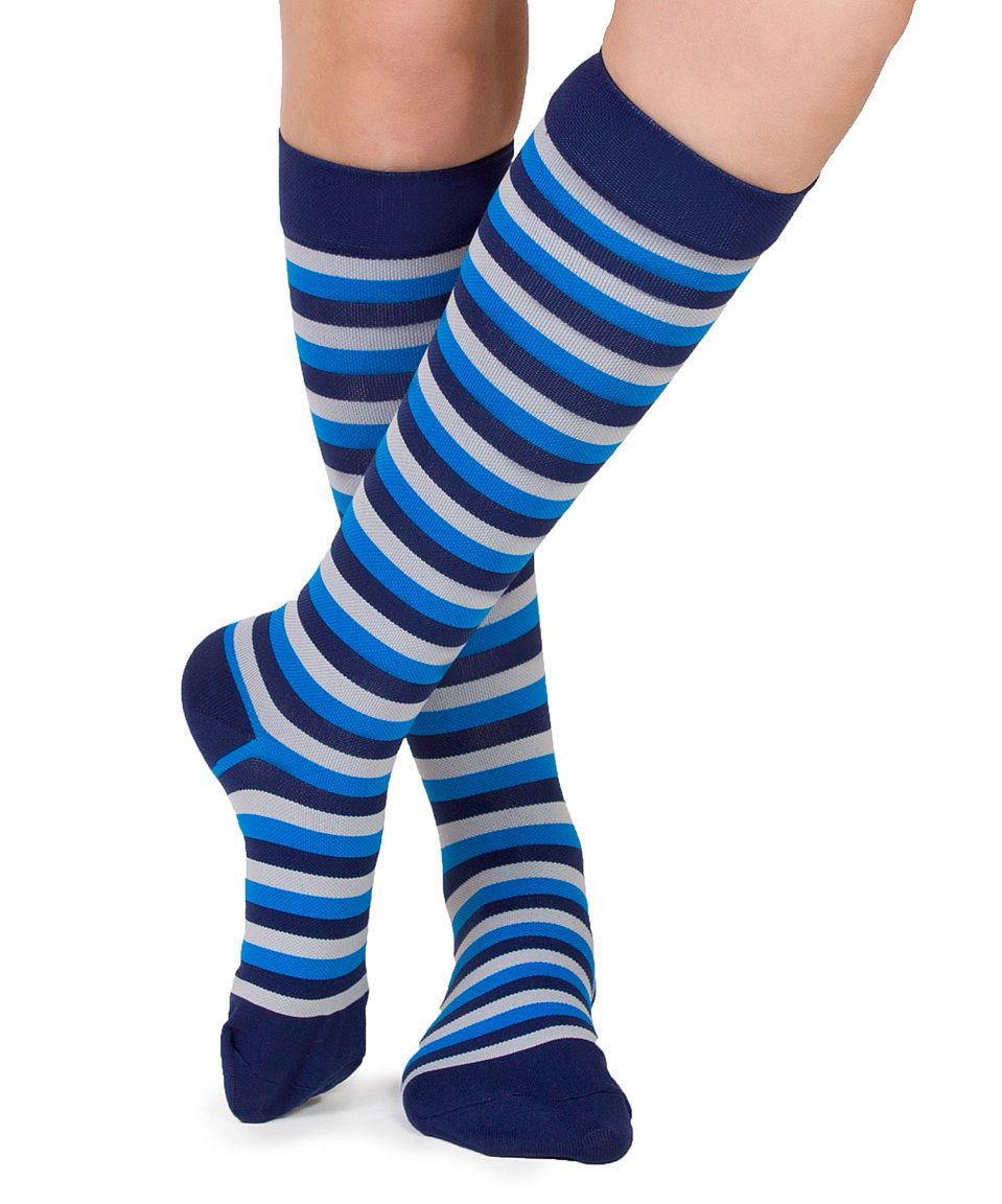 Take a look at this nabee Blue & Gray Stripe Hopi