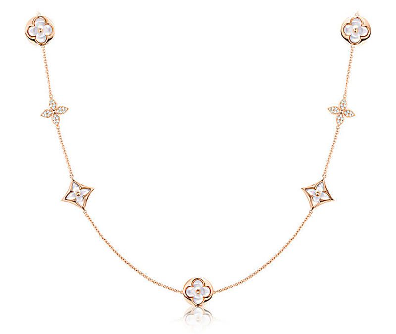 5e48c6a476ea Louis Vuitton Monogram Sun And Star Jewelry Outshines With Mother ...