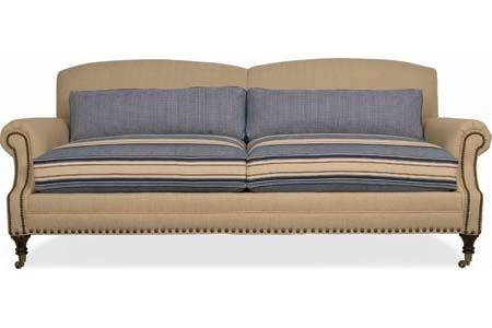 4680 Alana Sofa In Seat Height 21 Arm 25 Depth Width 69 Shown With Optional Nailhead Trim