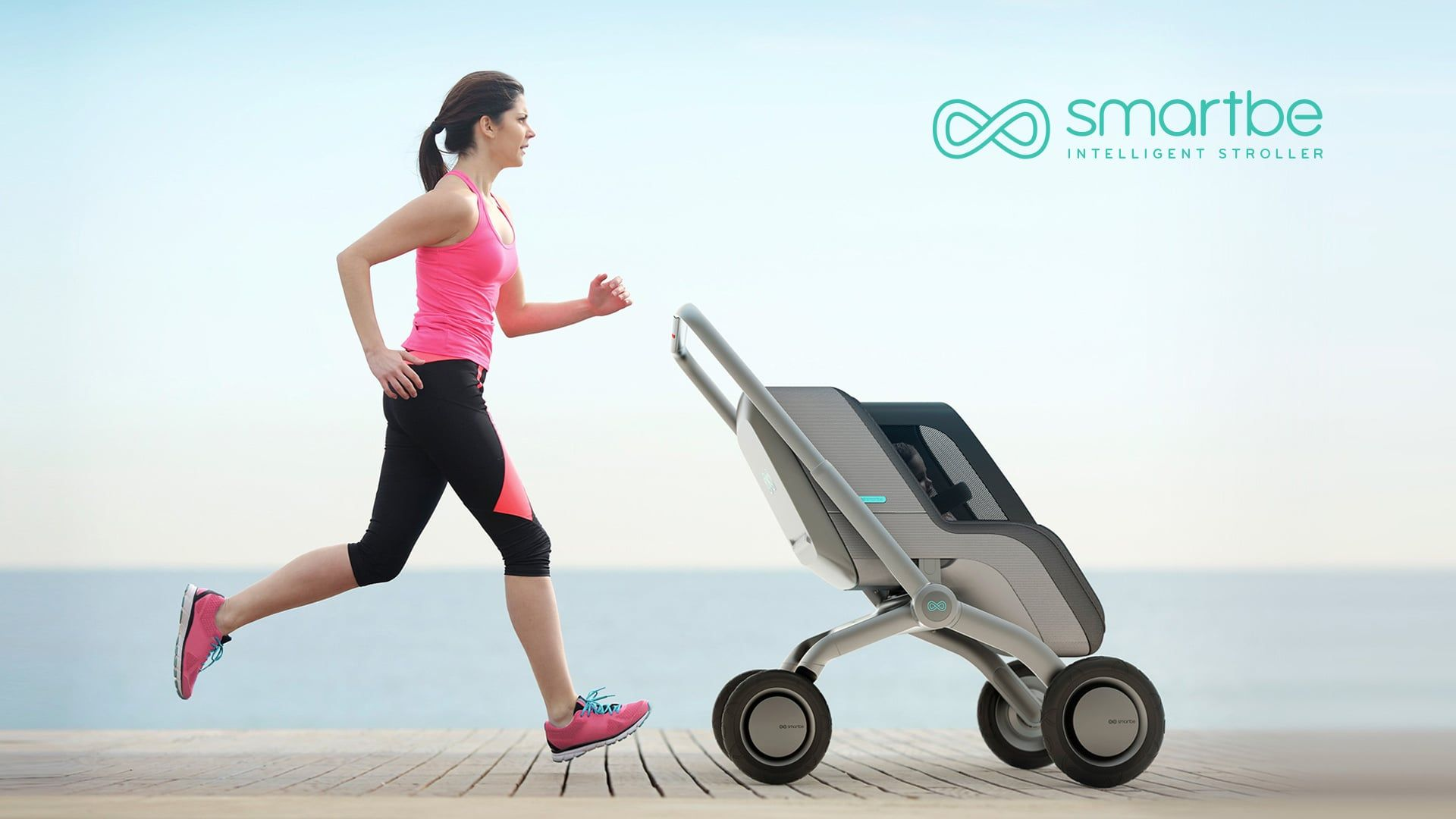 Smartbe Is First Self Driving Intelligent Stroller