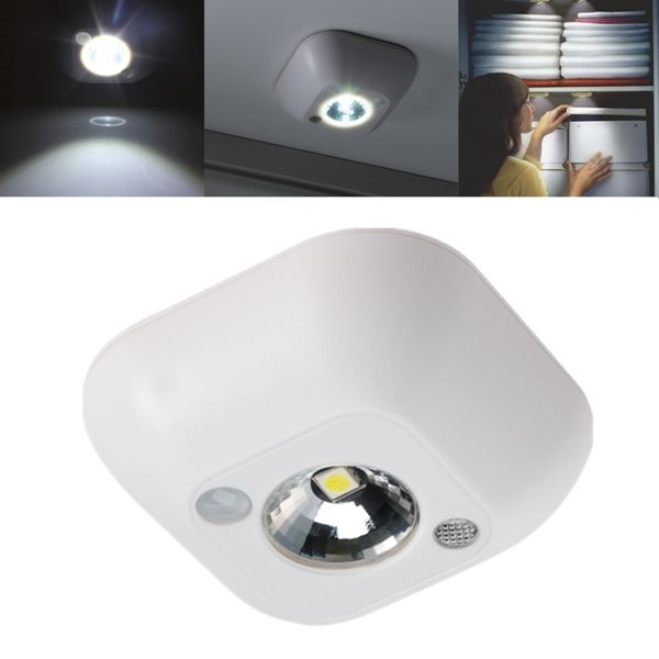 Mini Wireless Pir Motion Sensor Night Light Battery Powered Porch Cabinet Lamp Indoor Lighting From Lights Lighting On Banggood Com Sensor Night Lights Motion Sensor Lights Light Sensor