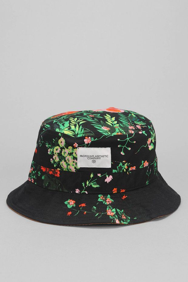 1c1356d44e8 Profound Aesthetic Floral Bucket Hat - Urban Outfitters