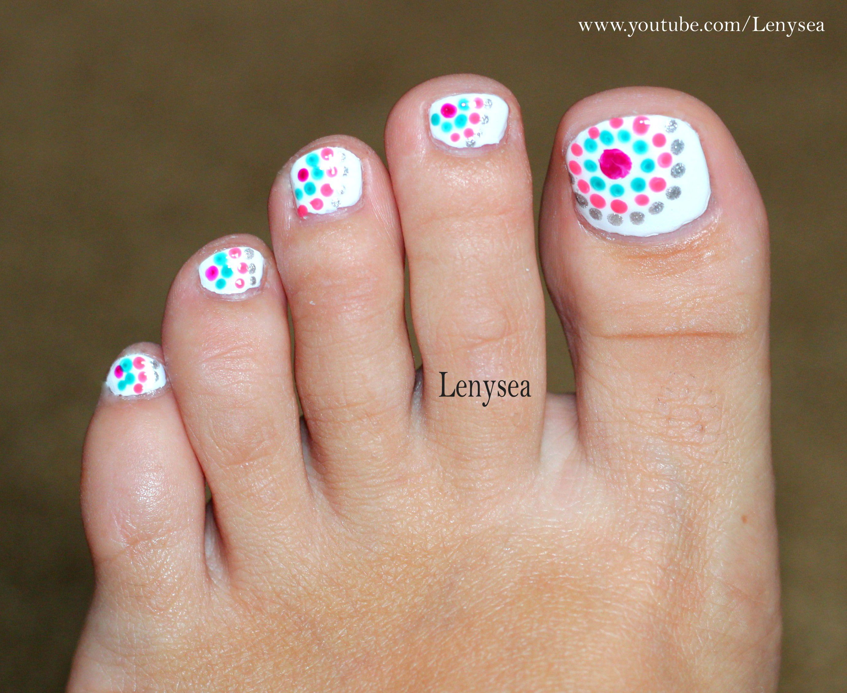 Cute And Easy Toe Nail Design For Summer Christina Childress Childress Childress Childress Childress Simple Toe Nails Cute Toe Nails Easy Toe Nail Designs