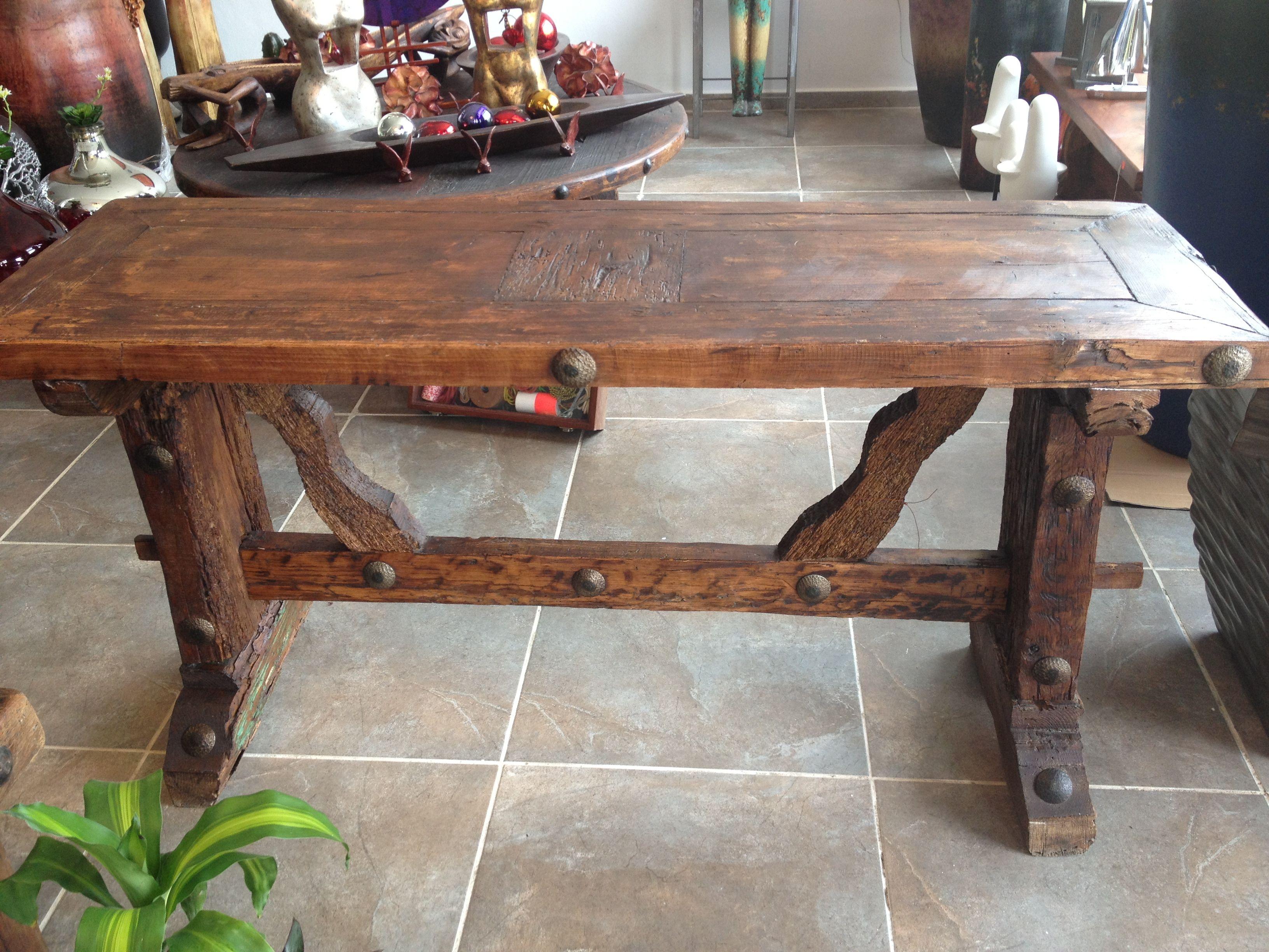 Credenza De Madera Rustica : Comoda rustica dormitorio grande mobiliario en