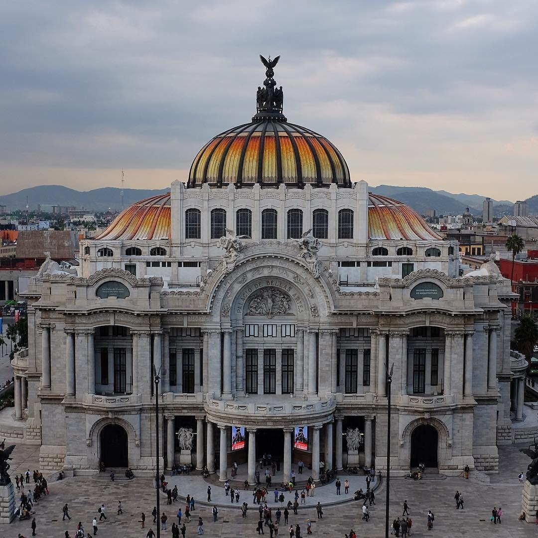 Palacio de Bellas Artes. Mexico City. by x100p