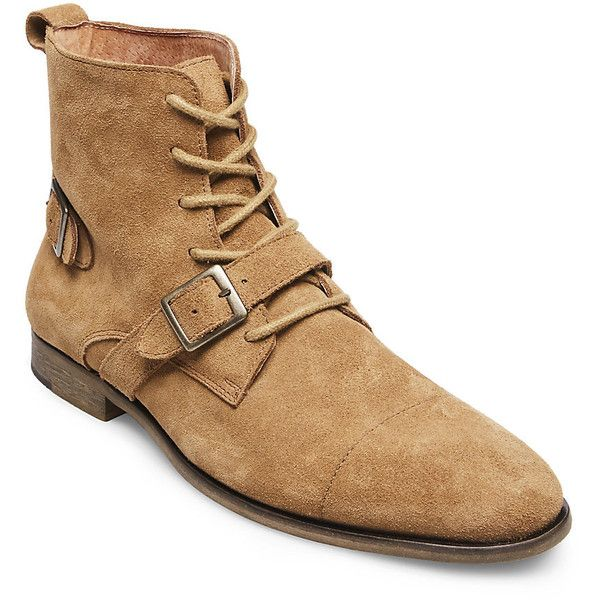 84b40e6deac Steve Madden Hound Boots ($160) ❤ liked on Polyvore featuring men's ...
