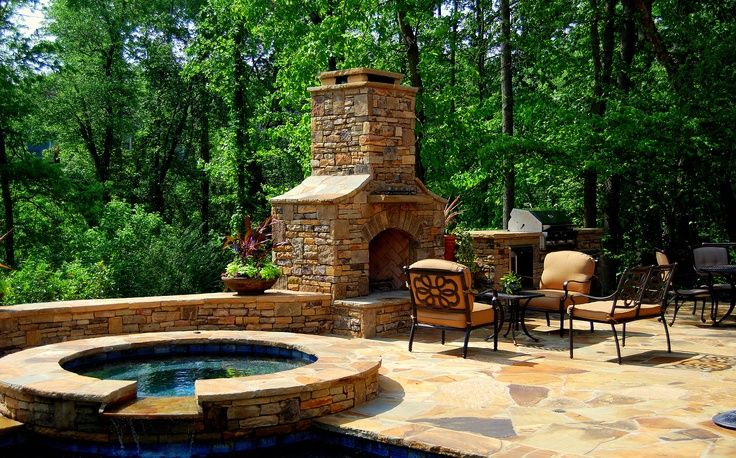38++ Hot tub fire pit combo ideas