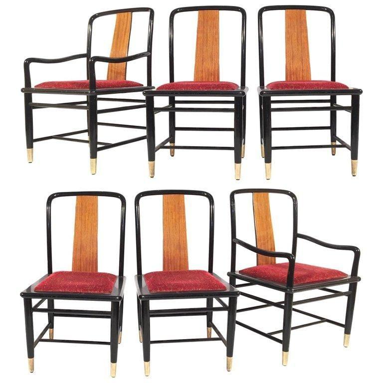 henredon asian dining chairs steel lounge chair chinoiserie elan koa wood seating