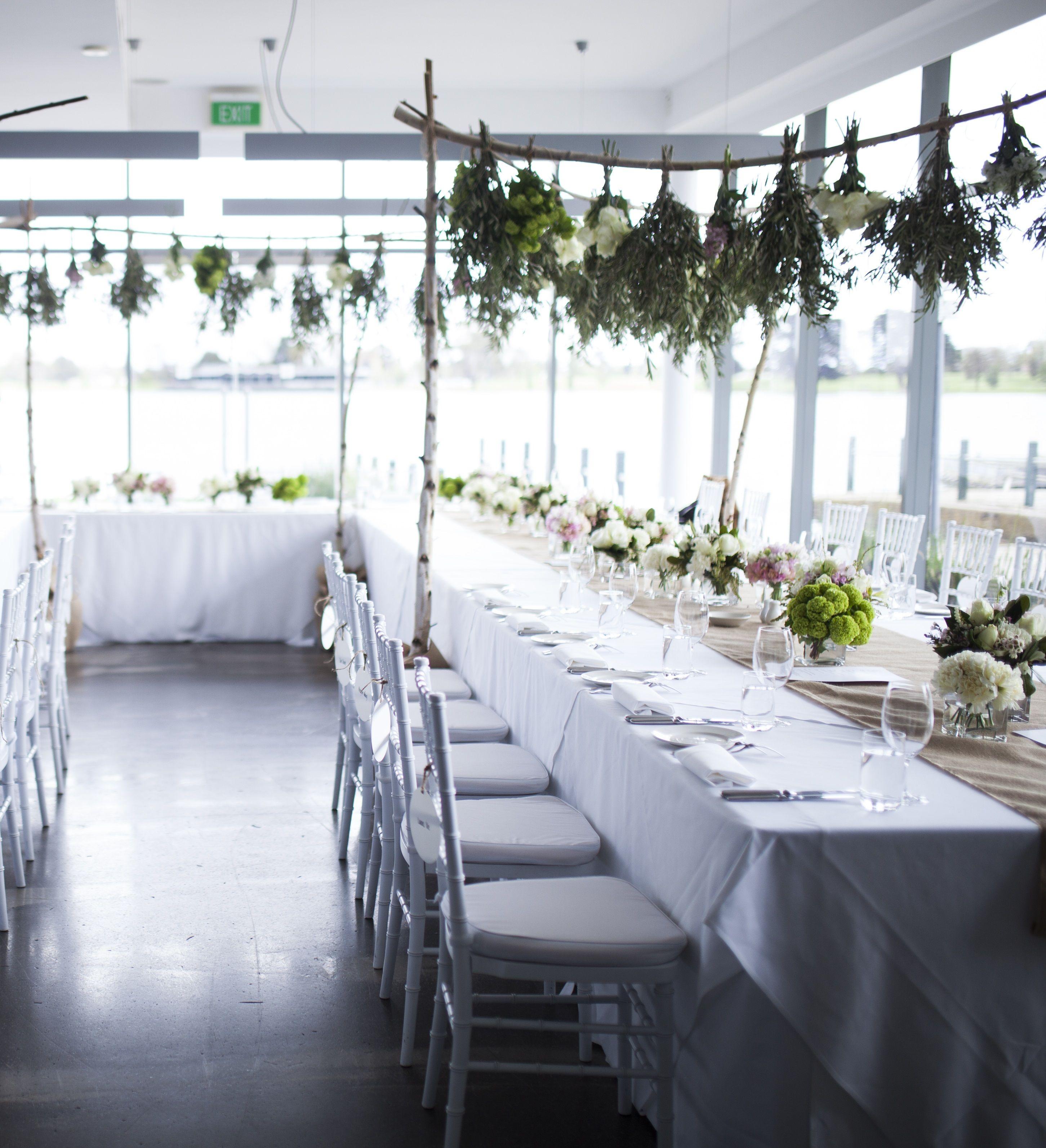 U shape table setting in our Lake Room #thepointalbertpark #wedding #weddingvenue #tablesetting #weddinginspo #weddingdeas #weddingchairs #weddingflowers #melbournevenue #functions