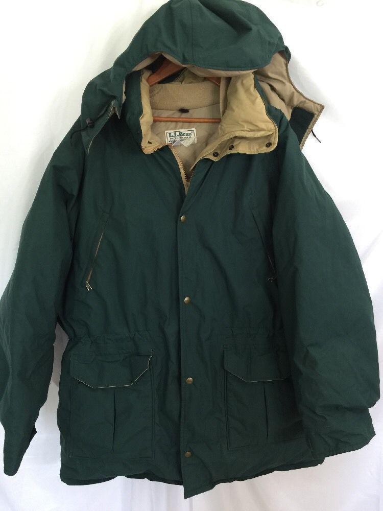 43782b686 Details about Vintage L.L. Bean Maine Warden Parka Gore-Tex ...