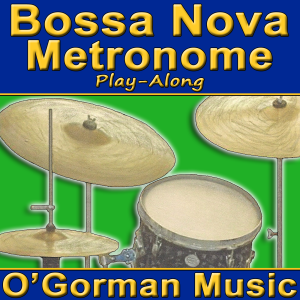 """If you're practicing Bossa Novas or other Latin Jazz, you need our Bossa Nova Metronome! You just can't practice Jobim, Getz, Gilberto, etc. with a classical """"tick-tock"""" metronome. Besides, it's always more fun and beneficial to practice with a real drummer.  Develop the correct feel for Latin Jazz..   Study the proper style for Bossa Nova.   Start out slow and proceed to full tempo with 23 tracks from 90 bpm to 200 bpm.   Each track is almost five minutes long so you can really dig in!"""