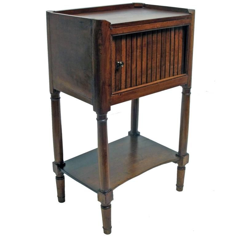 french cherrywood bedside table 1stdibs com table on exclusive modern nesting end tables design ideas very functional furnishings id=38149