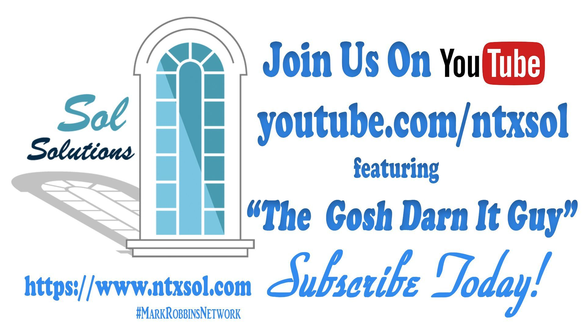Subscribe To Our #Youtube Today Wwwyoutubecomntxsol #Diy