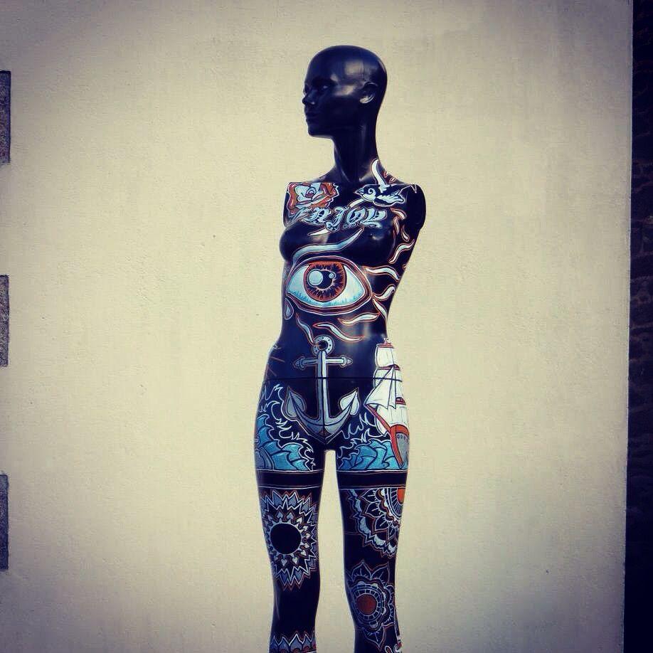 Côté face A, inspiration tatouage et mandala