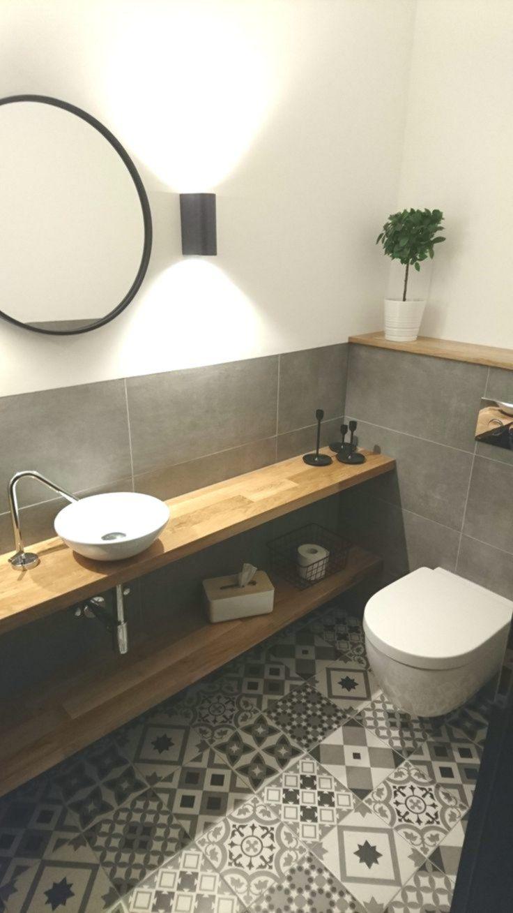 Gastetoilette Retro Fliesen Eiche Carreaux Chene Invite Retro In 2020 Retro Fliesen Badezimmer Arbeitsplatten Badezimmer Innenausstattung